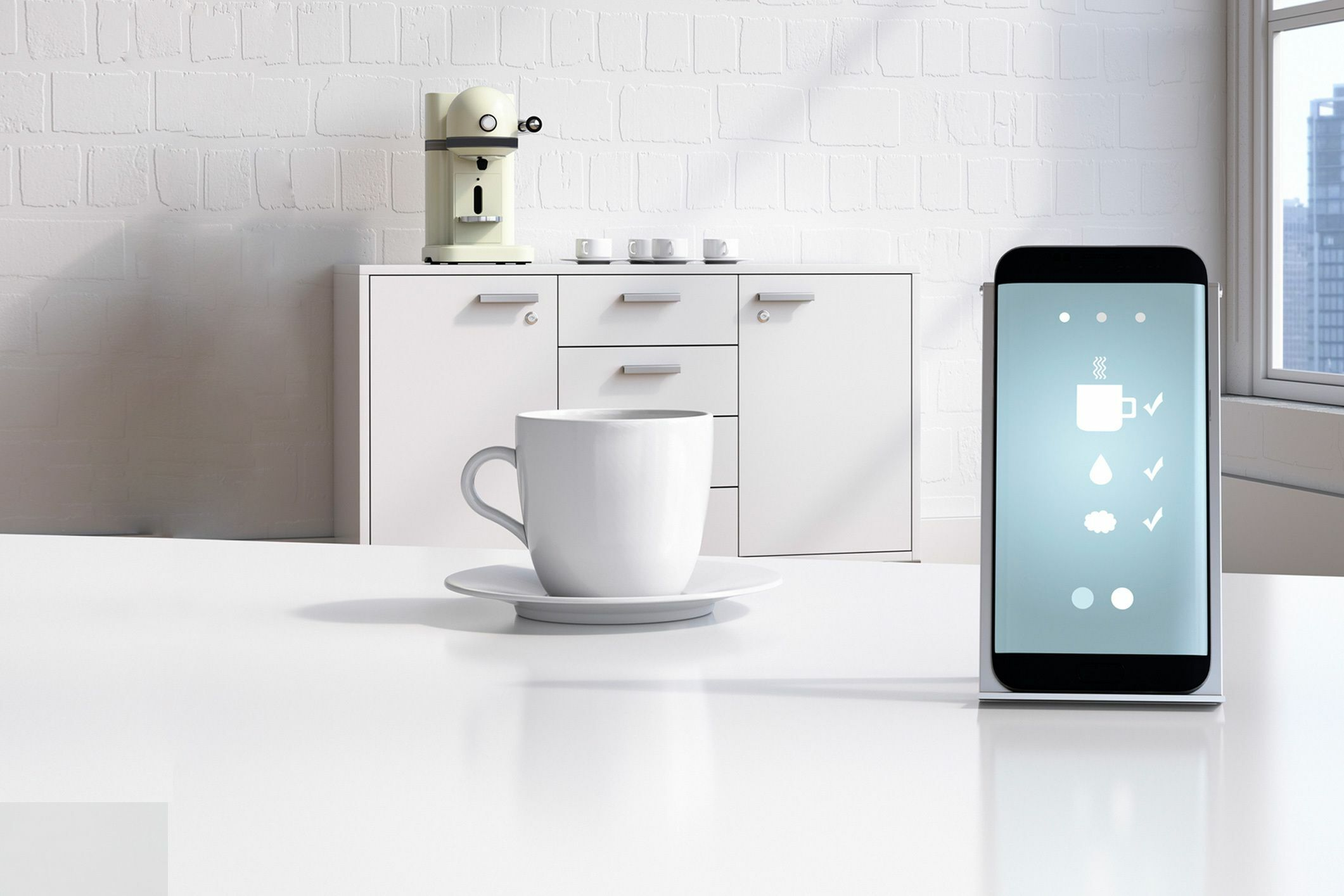 Smart Home Kaffeemaschine